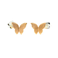 Rose Gold Butterfly Earrings