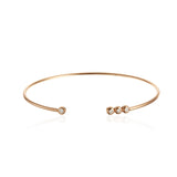 Multi CZ Cuff Bangle Bracelet