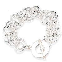 14mm Double Rolo Link Bracelet