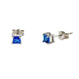 3mm Birthstone Earrings