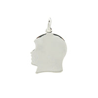 Girl's Head Pendant