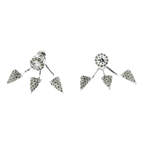 CZ Spike Ear Jackets