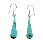 Turquoise Long Teardrop Earrings