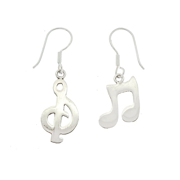 Music Note and Treble Clef Earrings