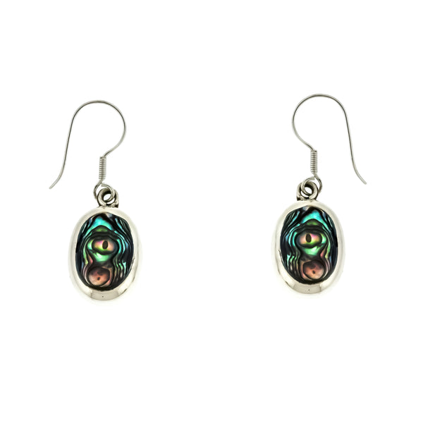 Abalone Oval Earrings
