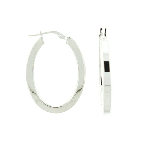 3mm Square Tube Oval Hoops