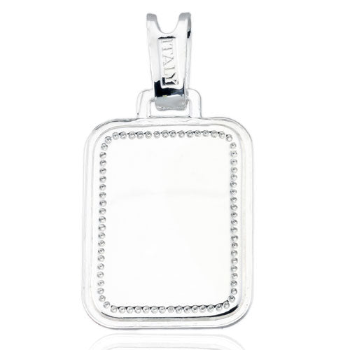 Rectangle Picture Frame Pendant