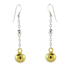 Gold Vermeil Ball Drop Earrings