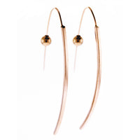Square Long Bar Earrings