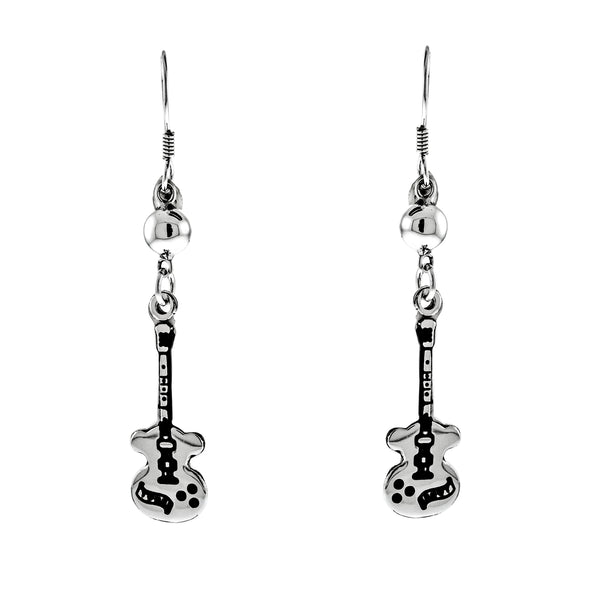 Guitar Dangling Earrings