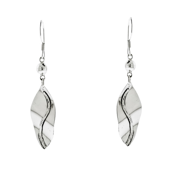 Dangling Leaf Earrings