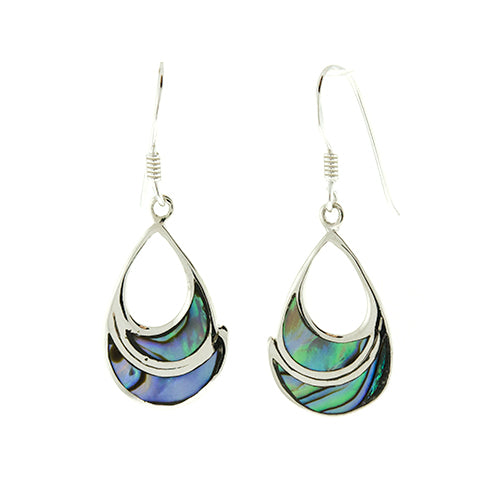Abalone Teardrop Earrings