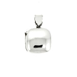 Square Puffed Locket Pendant