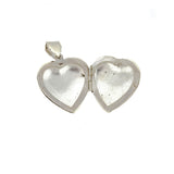 Plain Puffed Heart Locket