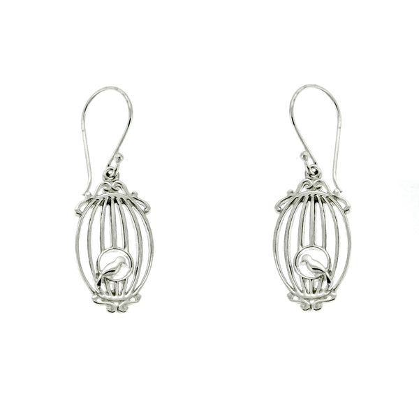 Bird Cage Earrings