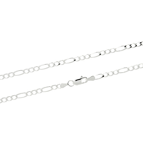 3mm Figaro 080 Chain