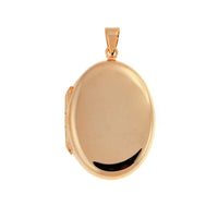 Rose Gold Oval Locket