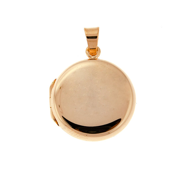 Rose Gold Round Locket