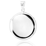 Round Locket Pendant