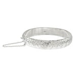 DC Wave Bangle with Chain