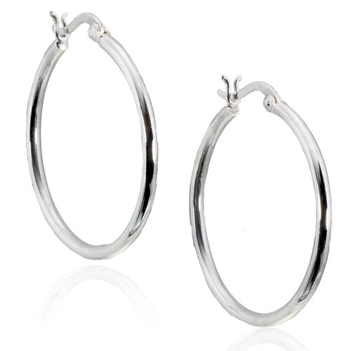 3mm Oval Hoops