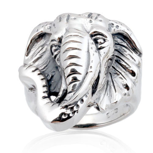 Elephant Head Ring