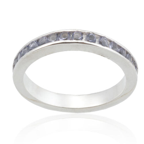 Alexandrite (June) CZ Eternity Band