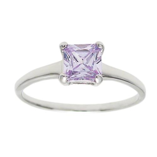 6mm Alexandrite Birthstone Ring - June