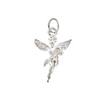 Large Winged Angel Charm