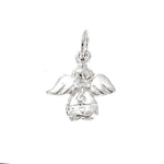 Winged Angel Back Charm