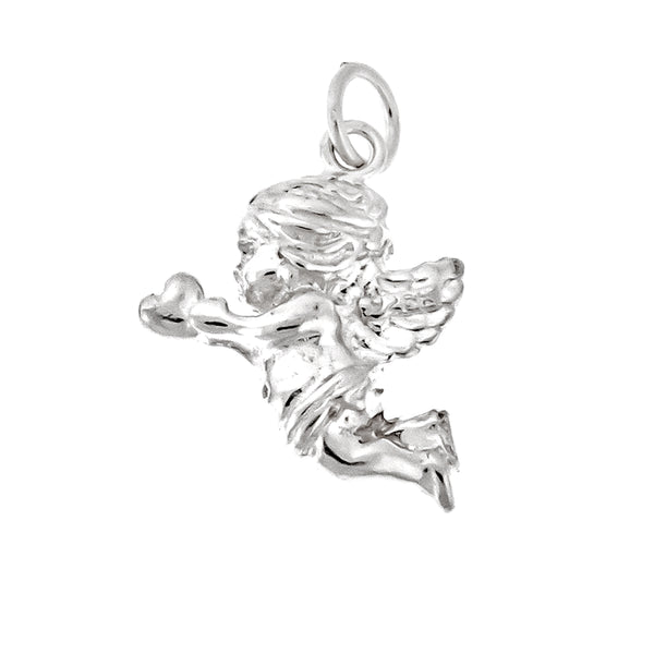 Baby Angel with Heart Charm