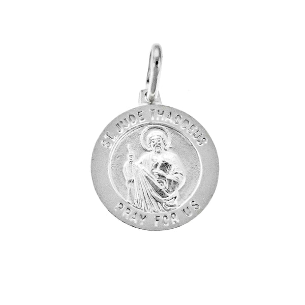 Round St. Jude Medal Pendant