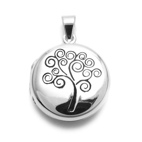 Round Tree of Life Locket