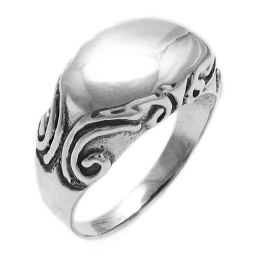 Filigree Bar Ring