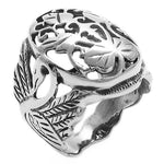 Oval Filigree Ring