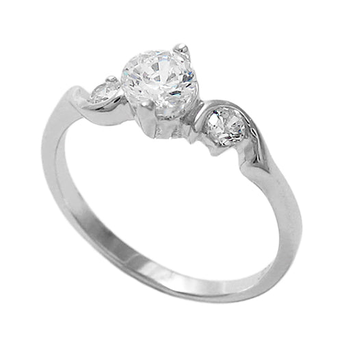 Baby Three CZ Ring