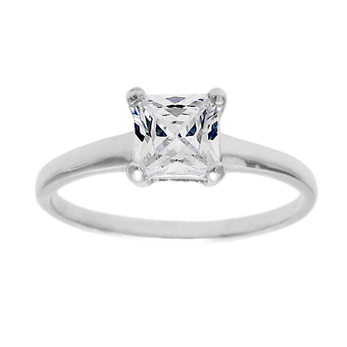 Baby Birthstone Ring - April