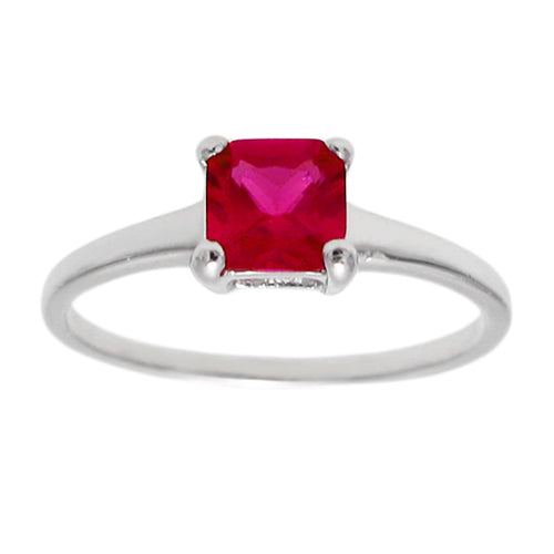 Baby Birthstone Ring - July