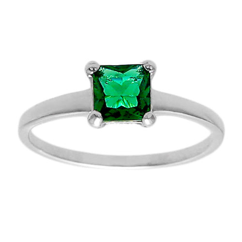 Baby Birthstone Ring - May