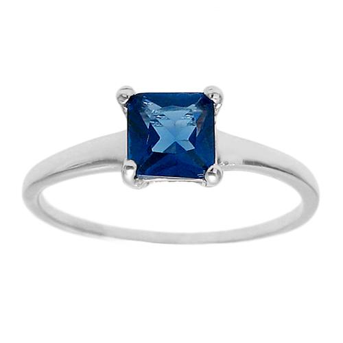6mm Sapphire Birthstone Ring - September