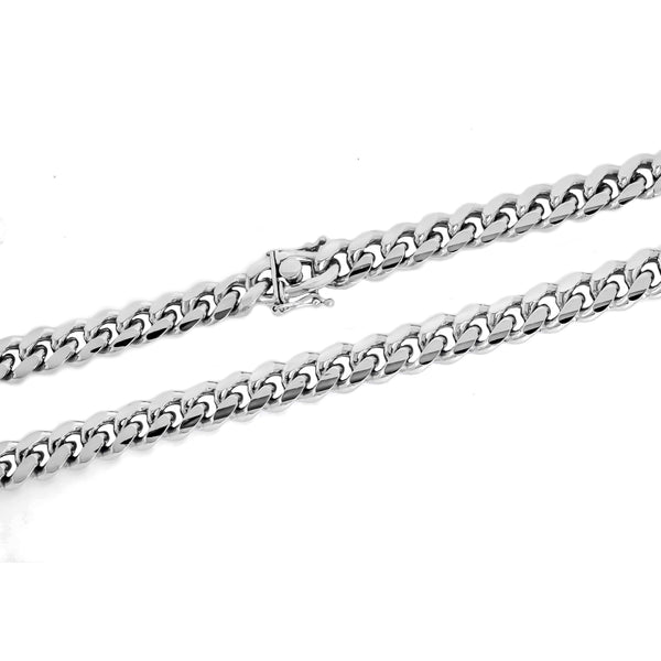 Rhodium Miami Cuban Chain