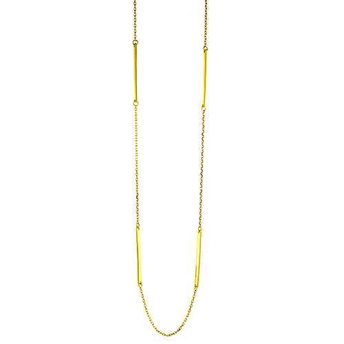 Gold Multi Bar Necklace
