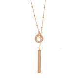 Satellite Lariat Necklace