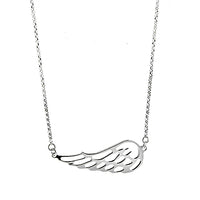 Sideways Wing Necklace