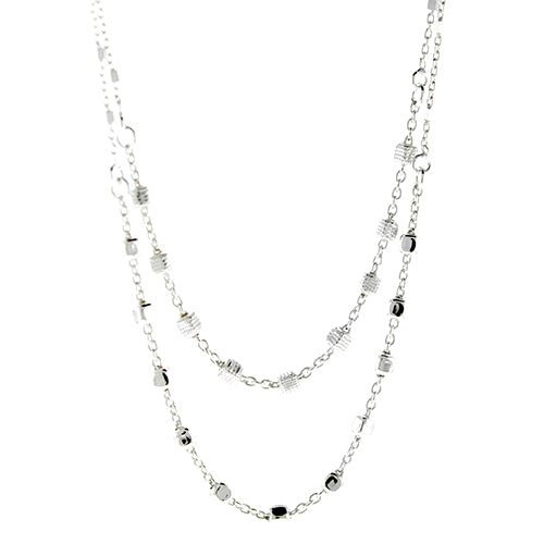 Satellite Double Strand Necklace