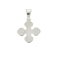 Rounded Cross Pendant