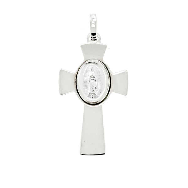 Lady of Guadalupe Cross Pendant