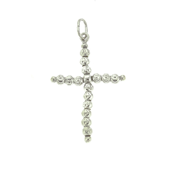DC Bead Cross Pendant