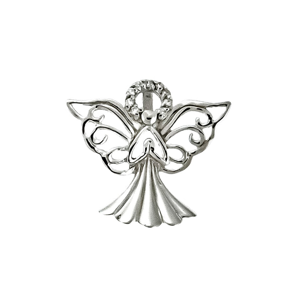 CZ Angel Slide Pendant