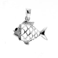 Filigree Fish Pendant